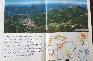 Carnet de voyage des enfants en Italie