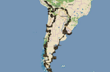 Film du voyage en Amérique du Sud